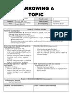 topic focus