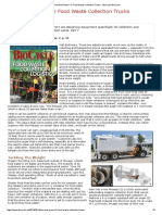 Demand Grows for Food Waste Collection Trucks - BioCycle BioCycle