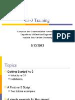 NS 3 Training