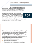 Impact & Challenges of Globalization