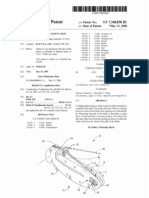 Folding knife with safety lock (US patent 7340838)