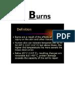 Burn Research