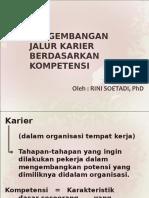 Pengembangan Jalur Karier Berdasarkan Kompetensi 12-10-12