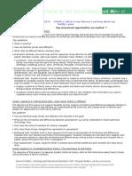 standard 5 artefact -assessment