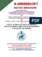 Diploma Admission Brochure 2017