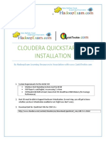 QuickStart VM Cloudera Installation