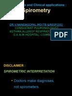 Spirometry Case Studies