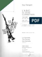 Dangain, G. - El ABC Del Joven Clarinetista, Vol.2