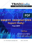 Derivative Daily Research Report 25-04-2017 by TradeIndia Research