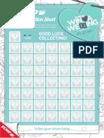 2017 Token Collection Sheet
