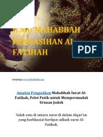 Ilmu Pengasihan Mahabbah SUrat Al Fatihah Agar Cepat Dapat Jodoh.pdf