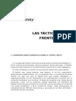 Trotsky, Leon - Las Tácticas Del Frente Único