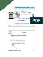 SYS849 Cours 1 Introduction Et Generalites Sur Les Procedes Et Les Materiaux