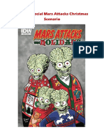 Mars Attacks Xmas Scenario