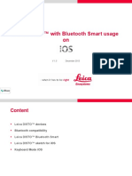 Leica DISTO Bluetooth and Apps_Getting Started on IOS_en
