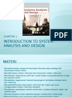 Chapter 1 Introduction to System Analysis and Design