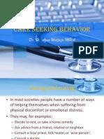 Care Seeking Behaviour