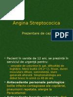 Angina Streptococica