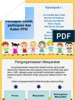 Konsep Persiapan Sosial, Partisipasi Dan Kader PPM