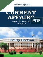 Polity Current Affairs - Forum IAS