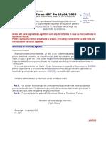 64. OMAI 607 din 2005.doc