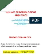 Semana 7 Diseños Epidemiologicos Analiticos