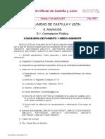 Licitación Servicio Cuadrillas nocturnas de Refuerzo contra incendios forestales en Castilla y León 2017