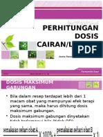 Perhitungan Dosis Cairan
