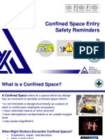 Confined Space Entry Safety Reminders April 2012
