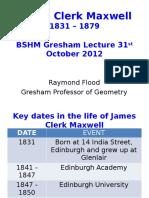 James Clerk Maxwell Presentation for Distribution