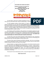 Popeyes - WI - Franchise
