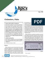 ECRI Pulse Oximeter