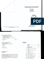 Micro Strip Antenna Design Handbook - Garg, Bhartia, Bahl, It Tipi Boon