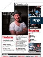 Drummer Magazine Issue 82 Contents