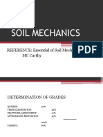 Soil Mechanics 2017