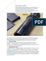 How to Identify Faults in Injection Molding