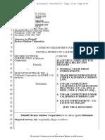 Deckers v. Elegant Footwear - Complaint