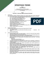 Spesifikasi Teknis Kantor Pu Final