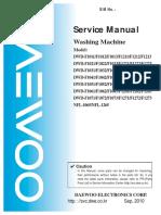 DWDF5234 Daewoo WashingMachine ServiceManual