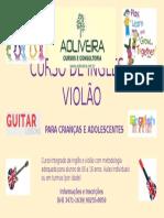 Curso de Inglês e Violão