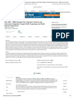 IEEE Standard for Hydraulic Turbine and Generator Integrally Forged Shaft Couplings and Shaft Runout Tolerances - IEEE Xplore Document