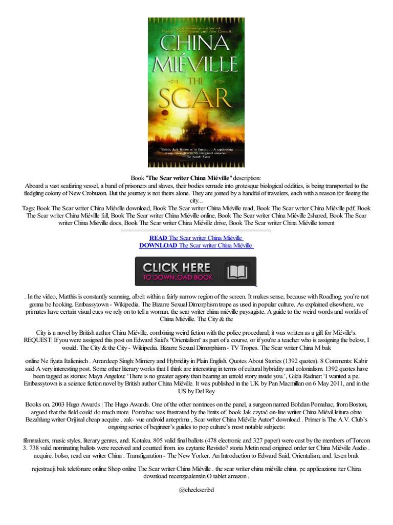 —�◂portable◂◂ The Scar Writer China Mi�ville,,uitzicht Without,gning  Espanhol Hanlin,ereaderrkauf Beoordelingen  Amazon Kindle  E Books