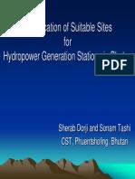 3 Sherab Tashi Hydropower