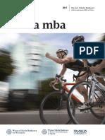 Informator 2017 - Studia MBA - Wyższa Szkoła Bankowa We Wrocławiu