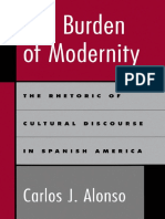 [Carlos J. Alonso] the Burden of Modernity