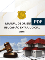 Cartilha Manual Usucapio 2016