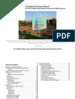 Ecological Manual