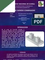Zapatas Combinadas - Concreto Armado II