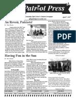 afhs april 7 issue