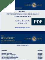 hdf 190 portfolio